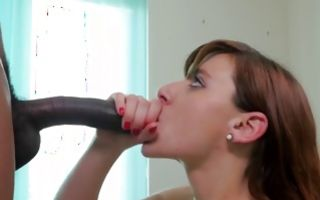 Rough interracial sex with stunning young girlfriend Lane