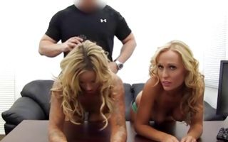 Rough painful threesome sex with nasty Ex-GF Khaleesi