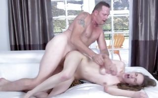 Sweet young girlfriend Samantha Hayes has cruel sex
