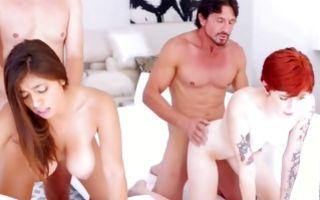 Fabulous ex-girlfriend Ella Knox has insane painful sex