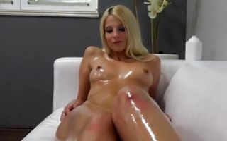 Adorable blonde Ex-GF Lea deeply fucked in wet muff