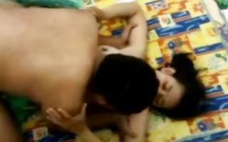 Crazy Indian couple is having rough hard core sex on the bed