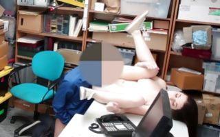 Innocent brunette Ex-GF has rough sex with horny man