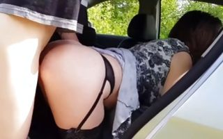 Teen babe blowing his dick and gets slammed