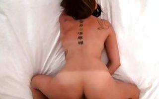Watch my ex girlfriend Mandy Haze squeezing hard her horny nipples
