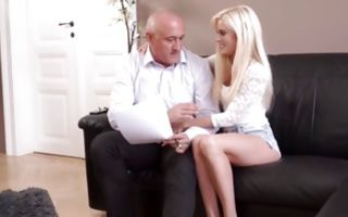 Fantastic amateur slut has painful sex with horny man